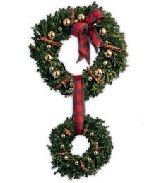 Cinnamon Double Wreath