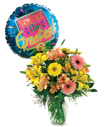 You're The Greatest Bouquet and Balloon!