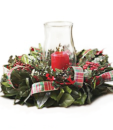 Holly Delight Centerpiece