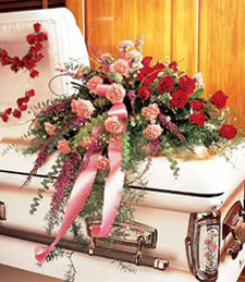 My Sweetheart Casket Spray