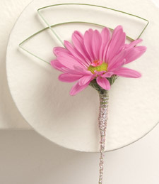 Bedazzled Boutonniere