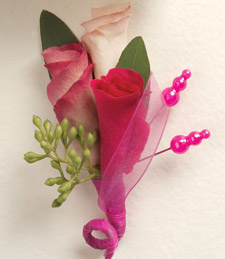 Colorful Memories Boutonniere