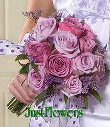 Tickled Pink Wedding Bouquet