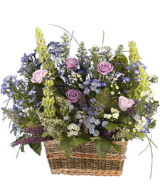English Garden Congratulations Basket