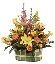 Bright Delight Basket