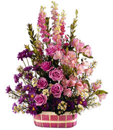 Pink Expressions Birthday Basket
