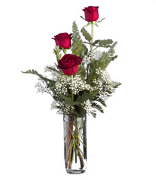 Triplet Rose Congratulations Bouquet