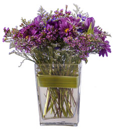 Purple Abundance Birthday Bouquet
