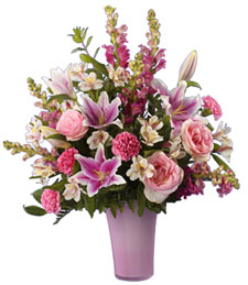 Pink Artistry Birthday Bouquet
