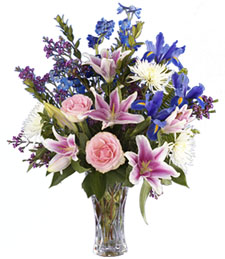 Lavish Beauty Birthday Bouquet