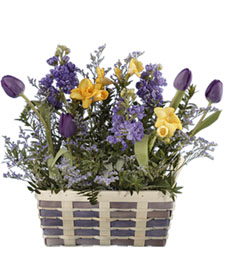 Purple Pleasures Basket