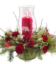 Glowing Christmas Centerpiece