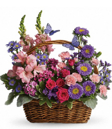 FlowerDelivery.com coupon: Country Meadow Blooms
