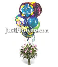Roses & Balloons