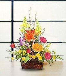 Sunshine Flower Burst Basket
