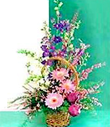 Wild Country Flower Basket