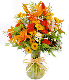 Autumn Brights Vase