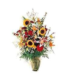 Bright Flower Vase