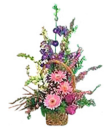 Wild Flower Basket