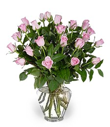Two-Dozen Pink Congratulations Roses
