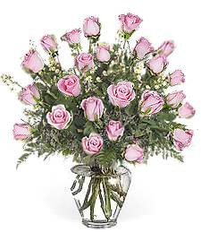Two-Dozen Pink Birthday Roses