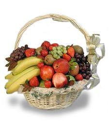 Elegant Sympathy Fruit Basket