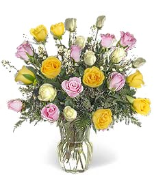 2-Dz Assorted Roses