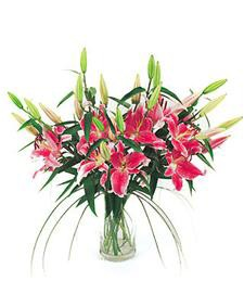 Fragrant Birthday Lilies