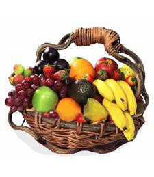 Cornucopia of Fruit Sympathy Basket
