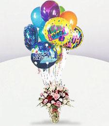Pinky Birthday Vase
