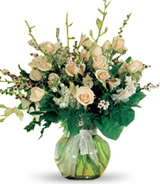 Flowers Galore-Sympathy Orchids and Roses