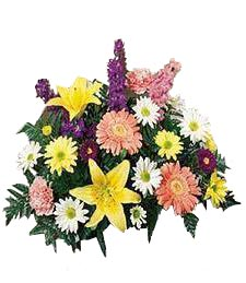 Mixed Flora Sympathy Centerpiece