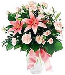 Glorious Pink Get Well Bouquet