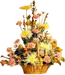 Country Flower Basket