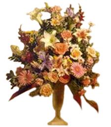 European Flower Vase