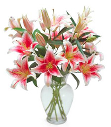 Lovely Lilies Birthday Bouquet