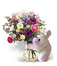 White Bear Bouquet