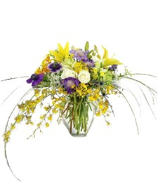 Chic Wildflower Arrangement