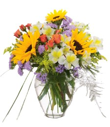 A Bright Moment Mother's Day Bouquet