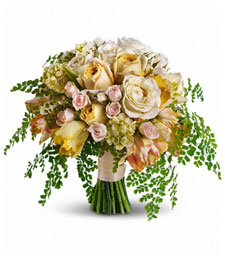 A Touch of Pastel Pleasures Bouquet