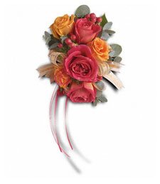 Ring Around the Roses Corsage