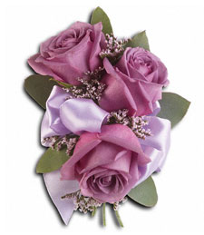 Luscious Lavender Corsage