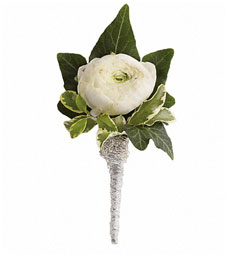 A Blissful Moment Boutonniere