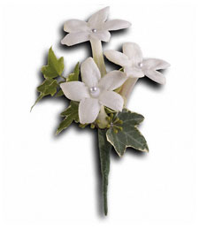 The Purity of Love Boutonniere