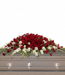 Royal Grandeur Casket Spray