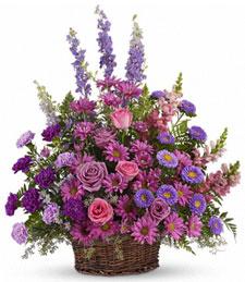 Lavender Memories Basket