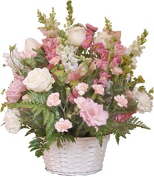 FlowerDelivery.com coupon: Pink Serenade Basket