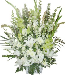 Pure Grace Funeral Bouquet