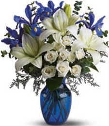 Over the Blue Horizon Valentine's Day Bouquet