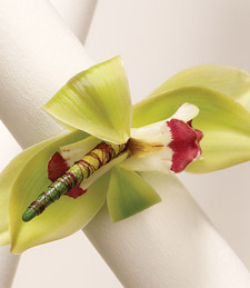 Exotic Orchid Corsage